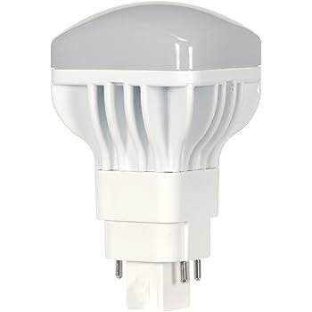 Satco S9307 Led Pl 4 Pin 5000k 950 Lm G24q Base Light Bulb With 120 Degree Beam Spread 13w Amazon Com