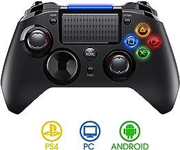 【Versión Nueva】PICTEK Mando PS4 Inalambrico, Diseño