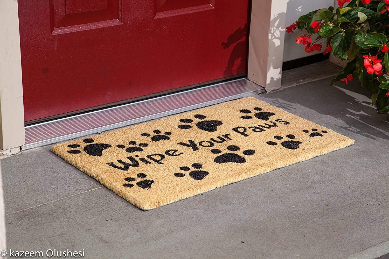 Kempf Wipe Your Paws Doormat 18 X 30 Garden Outdoor Amazon Com