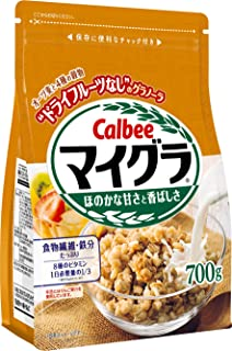Calbee卡乐比 MyGra 黄金原味麦片 700克×6袋
