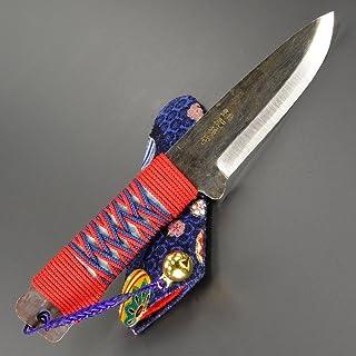 肥後守定 和式ナイフ 紐巻き 青紙割込