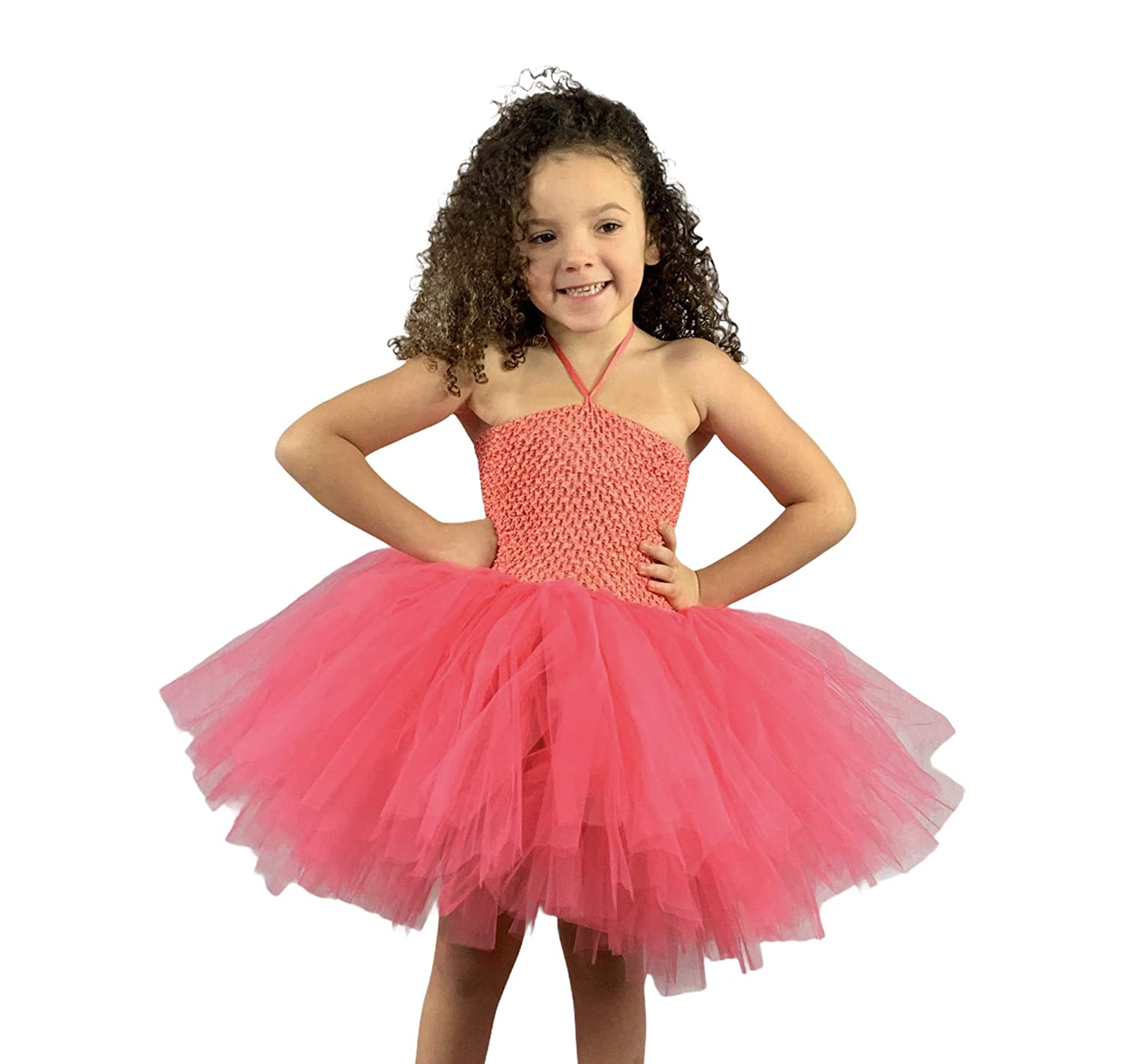 Coral Baby Girl Toddler Tutu Louisville-Jefferson County Popular products Mall Dress Tulle