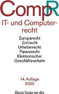 IT- und Computerrecht: Rechtsstand: 1. Oktober 2019: 5562