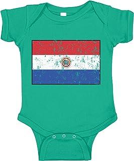 Amdesco Paraguay Flag Paraguayan Infant Bodysuit