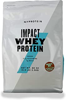MY PROTEIN Impact Whey Protein Supplement, 2.5 kg, Chocolate Mint