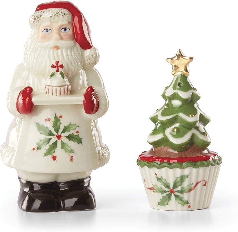 Lenox 886600 Santa Salt Pepper Set