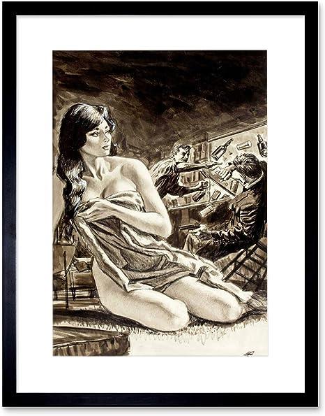 Naked Girl Drawing
