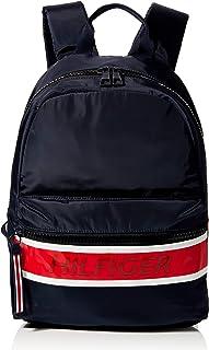 Tommy Hilfiger Men's Colour-Block Logo Backpack Sky Captain