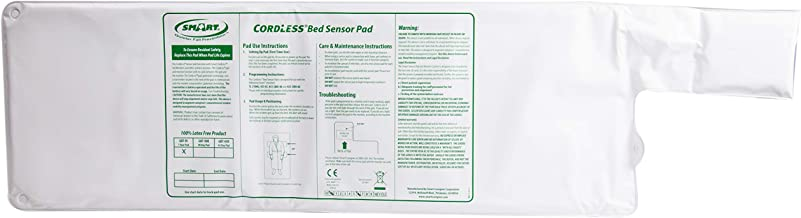 """Smart Caregiver Wireless and Cordless Weight Sensing Bed Pad - 10"""" x 30"""" (Monitor or Alarm Not Included)"""