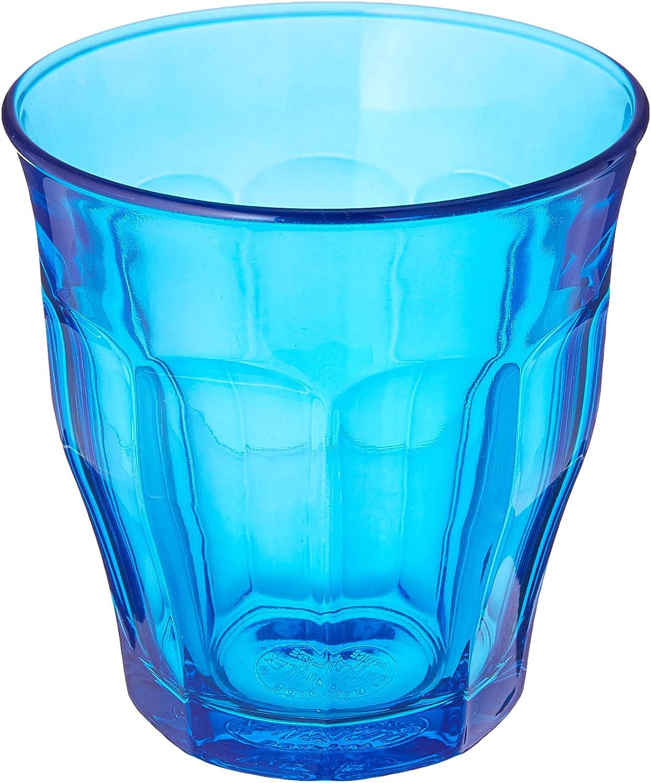 cheap Super special price Duralex Glass Tumbler Blue oz 8.75