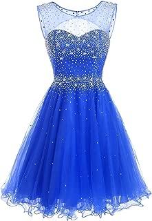 Women's Short V-Neck for Rose Gold Prom Dressarty Dress