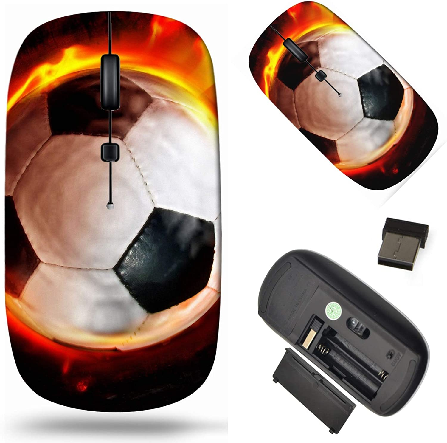 Wholesale Wireless Computer Mouse 2.4G with USB Phoenix Mall Laptop Receiver Cor