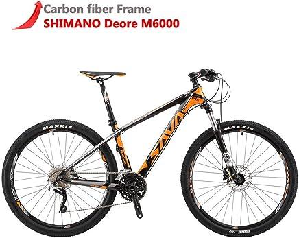 f696e7556de7d SAVADECK DECK300 Carbon Fiber Mountain Bike 27.5