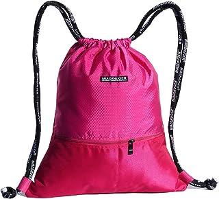 75457a12a0e1 ESVAN Proof Gymbag Large Drawstring Backpack Gymsack Sackpack for Sport  Traveling Basketball Yoga Running 9 Colors