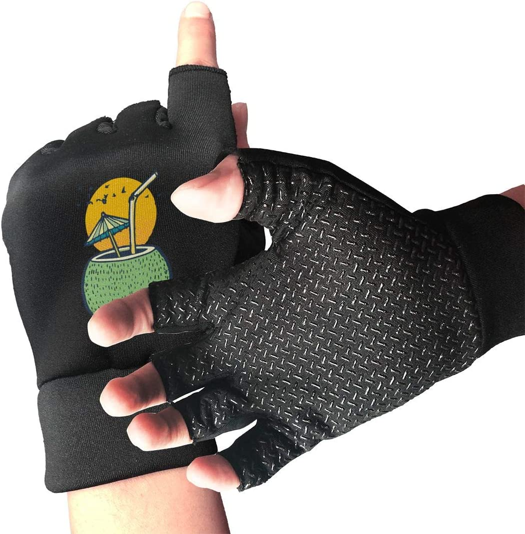 Unisex Sunset Beach OFFicial site Fresh Coconut Water Arthritis Gloves Low price Copper