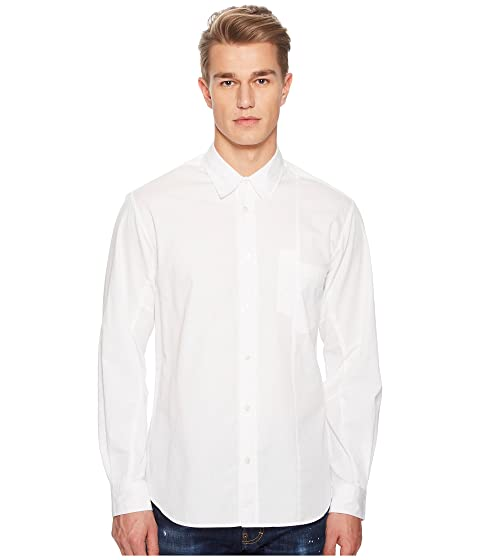 McQ Mismatched Pocket Shirt