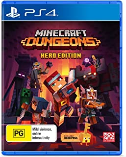 Minecraft Dungeons: Hero Edition - PlayStation 4