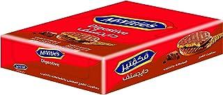 بسكويت دايجستيف شوكولاتة بالحليب من مكفايتز، 33.3 جم – 12 قطعة