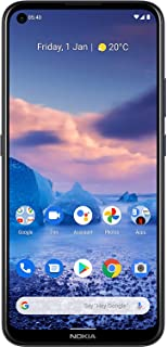 "Nokia 5.4 Smartphone with a 6.39"" HD+ Screen, 48MP Quad Camera, Qualcomm Snapdragon 662, 2-Day Battery and Android Upgrade..."
