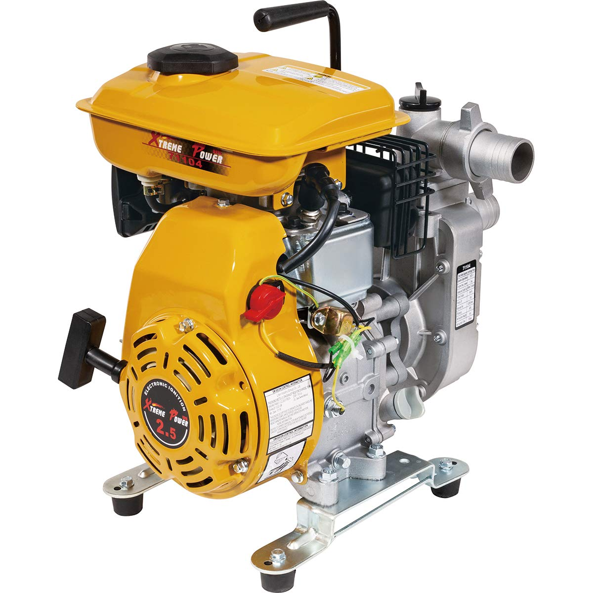 Max 73% OFF XtremepowerUS 2.5 HP 4 Stroke Water Portable Lowest price challenge Pump Tr Gas-Powered