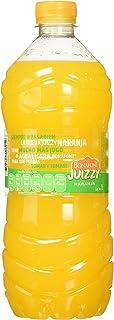 Bonafont Juizzy, Agua Fresca Con Jugo Natural de Naranja, 1 litro. Paquete de 6