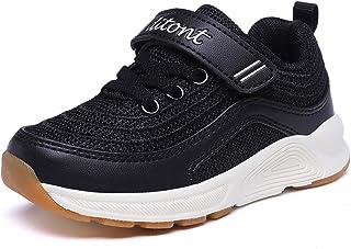ditont Kids Boys Girls Toddler Lightweight Walking Shoes Casual Fashion Sneakers(Toddler/Little Kid)
