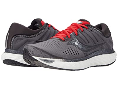 Saucony Hurricane 22 (Charcoal/Red) Men