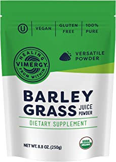 Vimergy USDA Organic Barleygrass Juice Powder (250g)