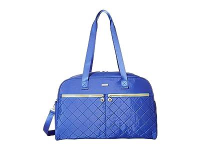 Baggallini Legacy Travel Varsity Duffel (Royal Blue/Mint) Duffel Bags