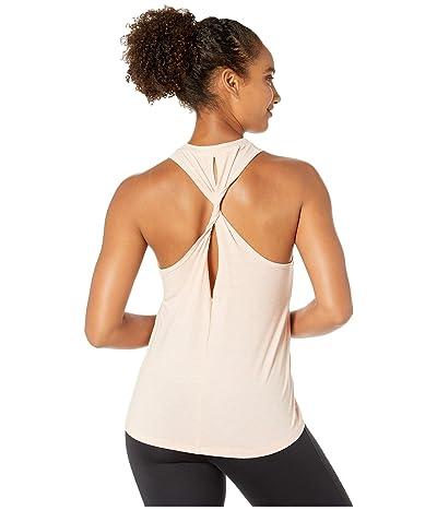 New Balance Transform Jersey Twist Tank (White Oak Heather) Women