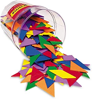 Learning Resources Classpack Tangrams, Set of 30, 6 Colors
