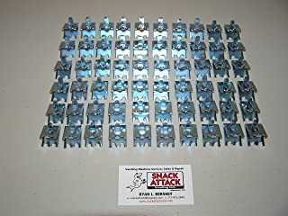 TRUE, BEVERAGE AIR & FOGEL (60) COMMERCIAL COOLER/FREEZER SHELF CLIPS - NSF /!