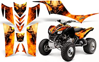 CreatorX Kawasaki Kfx 700 Graphics Kit Decals Pure Evil