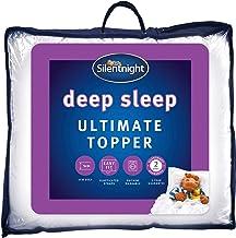 Silentnight Ultimate Deep Sleep Topper, White, King