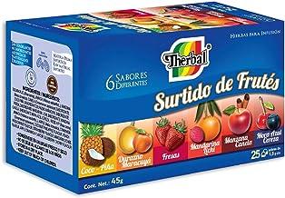 Therbal Té, Surtido de Frutes 25 sobres , 45 gramos