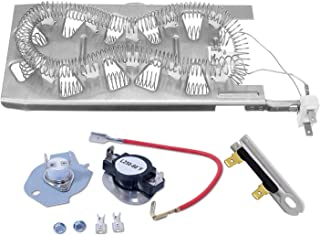Siwdoy 3387747 & 279816 & 3392519 Dryer Heating Element Kit Compatible with Whirlpool Dryer