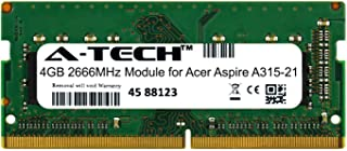 A-Tech 4GB Module for Acer Aspire A315-21 Laptop & Notebook Compatible DDR4 2666Mhz Memory Ram (ATMS269009A25977X1)
