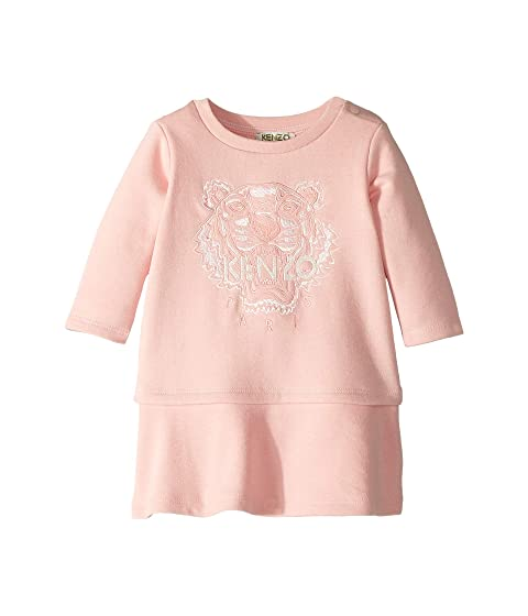 Kenzo Kids Tiger Fleece Dress (Infant)