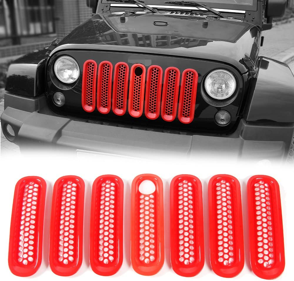 Front Mesh Grill Inserts free shipping Grille Guard 2007-201 Key Hole for with Today's only