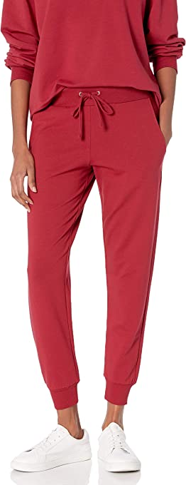 The Drop Women's Grace Supersoft Stretch Rib Cuff Jogger