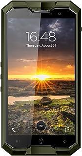 "HOMTOM ZOJI Z8-5,0"" 4G FDD-LTE smarttelefon, IP68 vattentät, gRÖN"