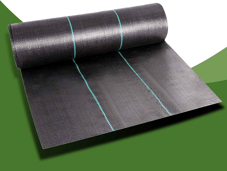 Cheruje Weed Barrier Landscape Fabric 4 Duty Kansas City Mall FT X Heavy Outstanding 100 3.
