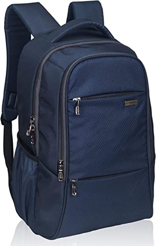 COSMUS Darwin Navy Blue Laptop Backpack for (15.6 inch)