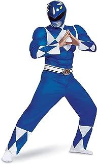 Men's Blue Ranger Classic Muscle Adult Costume