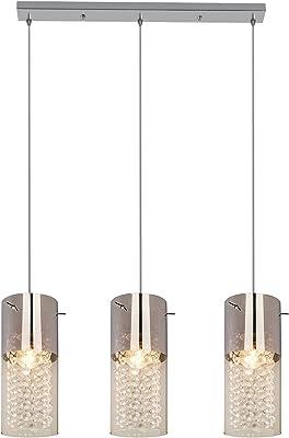 ZHANG NAN Lámpara Colgante de 3 lámparas Cristal Morden ...