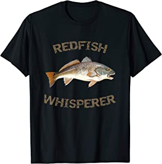 Redfish Whisperer Redfish T-Shirt | Red Drum Fish Shirt