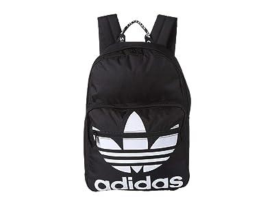 adidas Originals Originals Trefoil Pocket Backpack (Black/White) Backpack Bags
