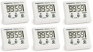 Presto 04213 Electronic Digital Timer 6 Pack