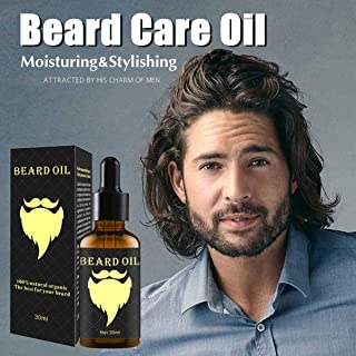 Shreeyas 30ml Natural Mustache Beard Shaping Oil Nourishment Nursing Moisturizing Conditioner Reduce Beard Split Nourish Quickly Absorb