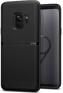 Samsung Galaxy S9 Case, VRS Design Slim Phone Case [Black] Bulk-Free Premium Shockproof TPU Silicon [Single Fit] for Samsu...